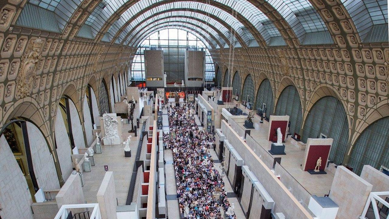 Au musée d'Orsay, il y a les concerts dans l'auditorium et dans la nef.
