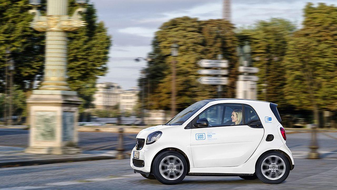 L'application Car2Go compte déjà quelque 3,4millions d'utilisateurs à travers le monde, dont 958.000 en Allemagne.