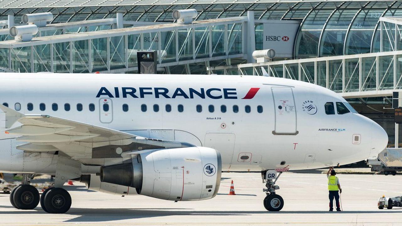 Une réunion entre la direction d'Air France et les syndicats a eu lieu samedi.