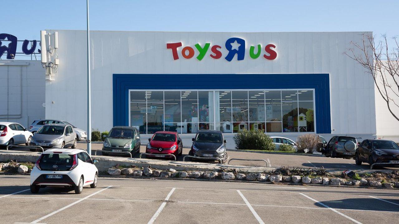 44 des 53 points de vente Toys 'R' Us en Franceseront préservés.