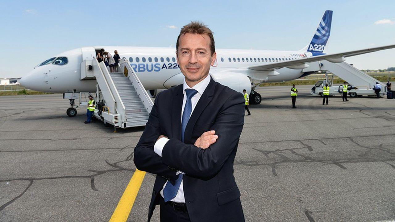 Guillaume Faury, qui affiche le parcours typique du bon ingénieur français : X, Supaéro, DGA, prend la tête d'Airbus à 50 ans.