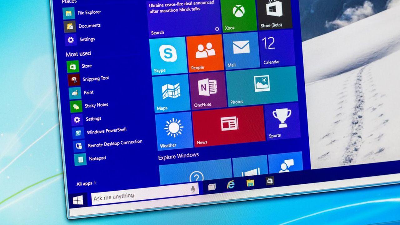Un bug affecte la mise à jour d'octobre de Windows 10.