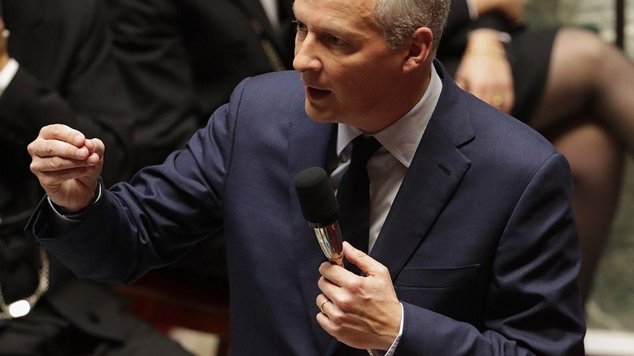 Le ministre de l'Economie, Bruno Le Maire, a pesé de tout son poids pour que le texte soit bien examiné dès le début du mois de septembre, reléguant à janvier la révision constitutionnelle.