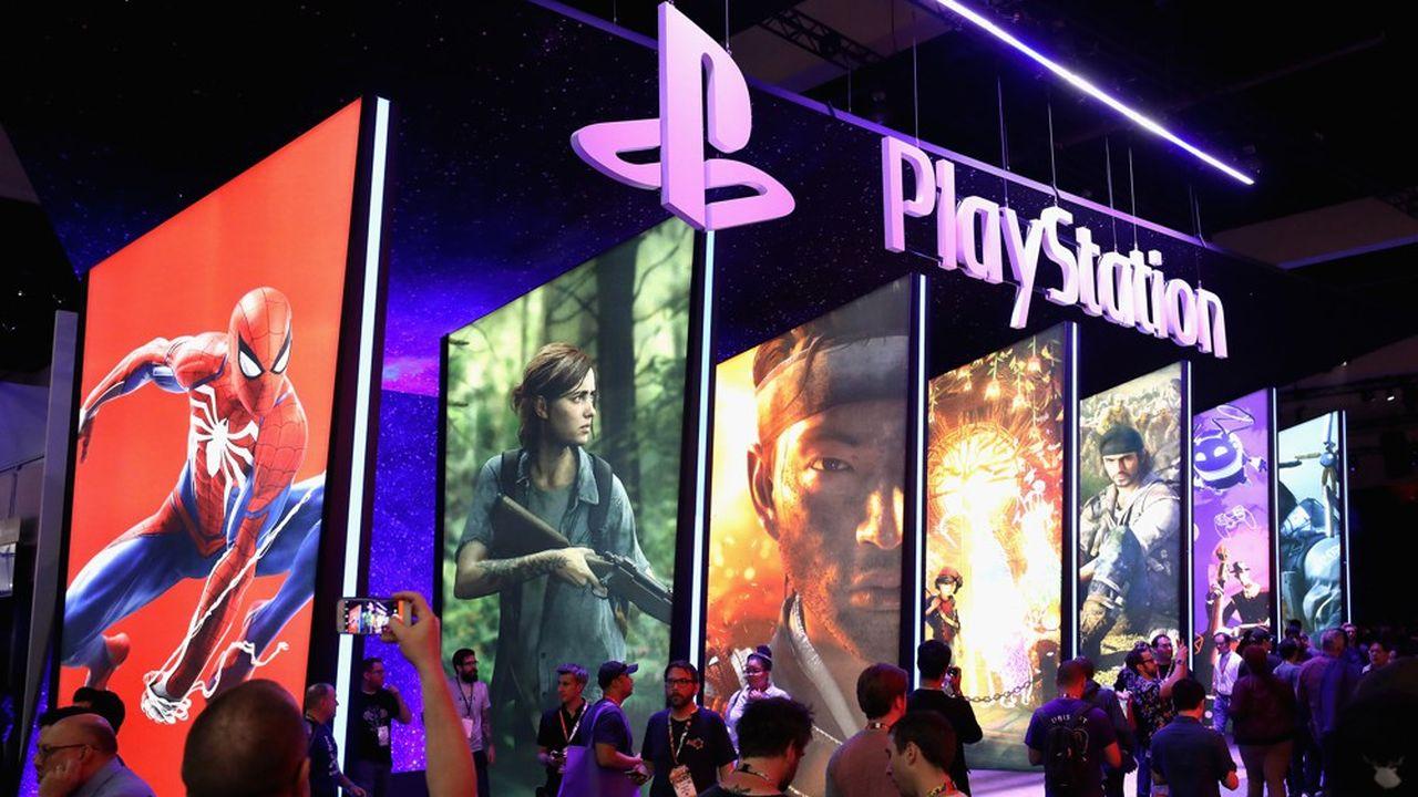 Le département des jeux vidéo représente près de 25% des revenues annuels de Sony actuellement.