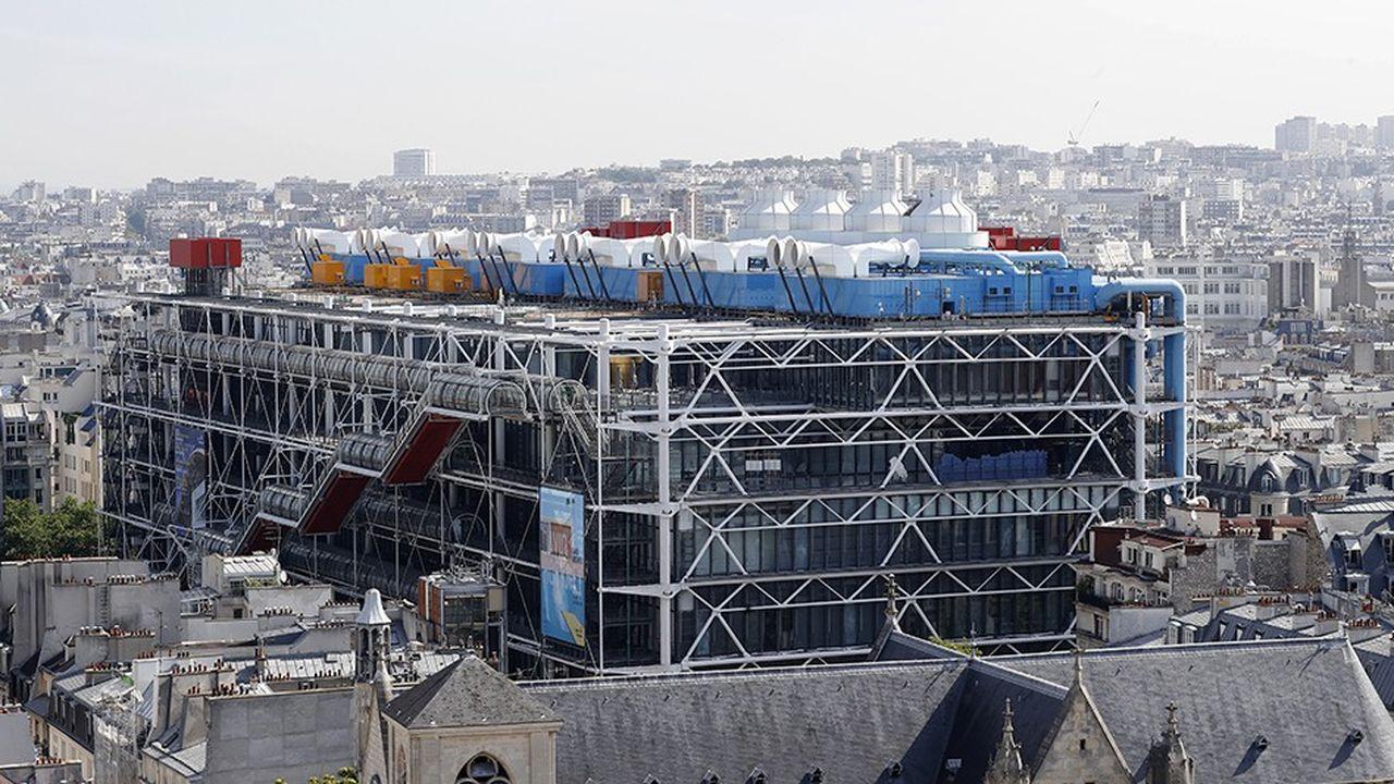 Le centre Georges Pompidou.