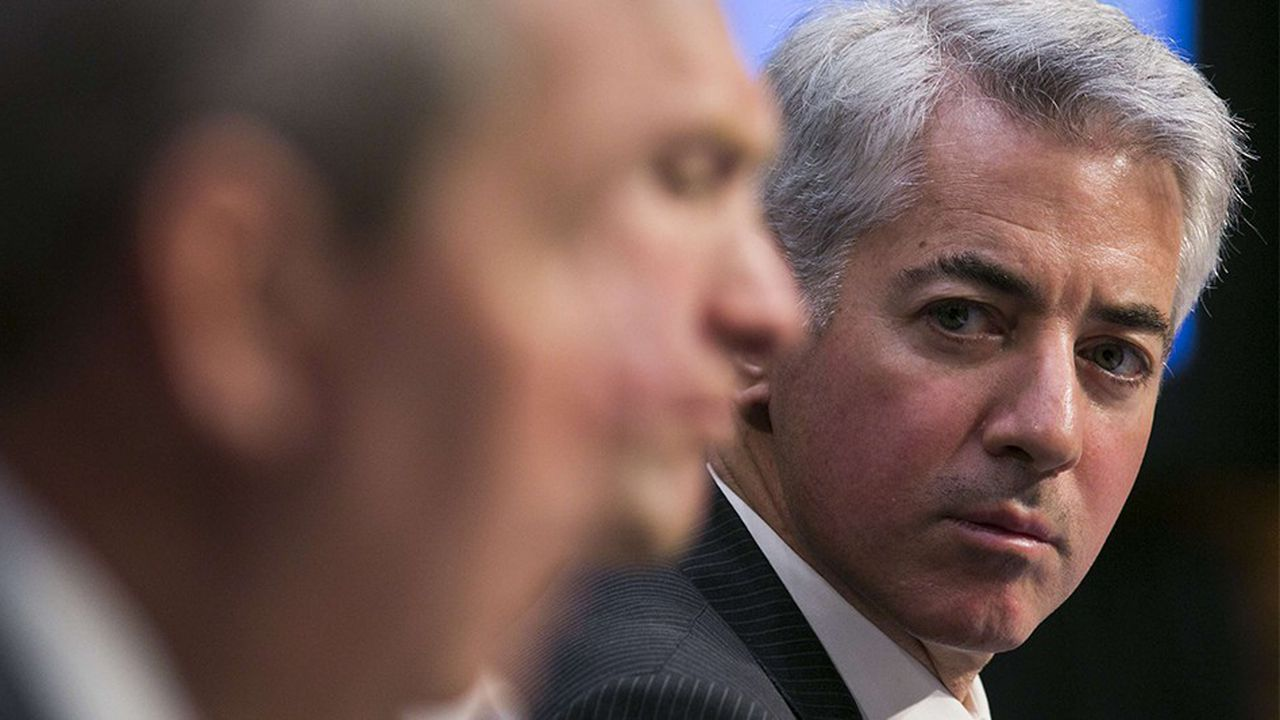 Bill Ackman, le fondateur de Pershing, le hedge fund activiste
