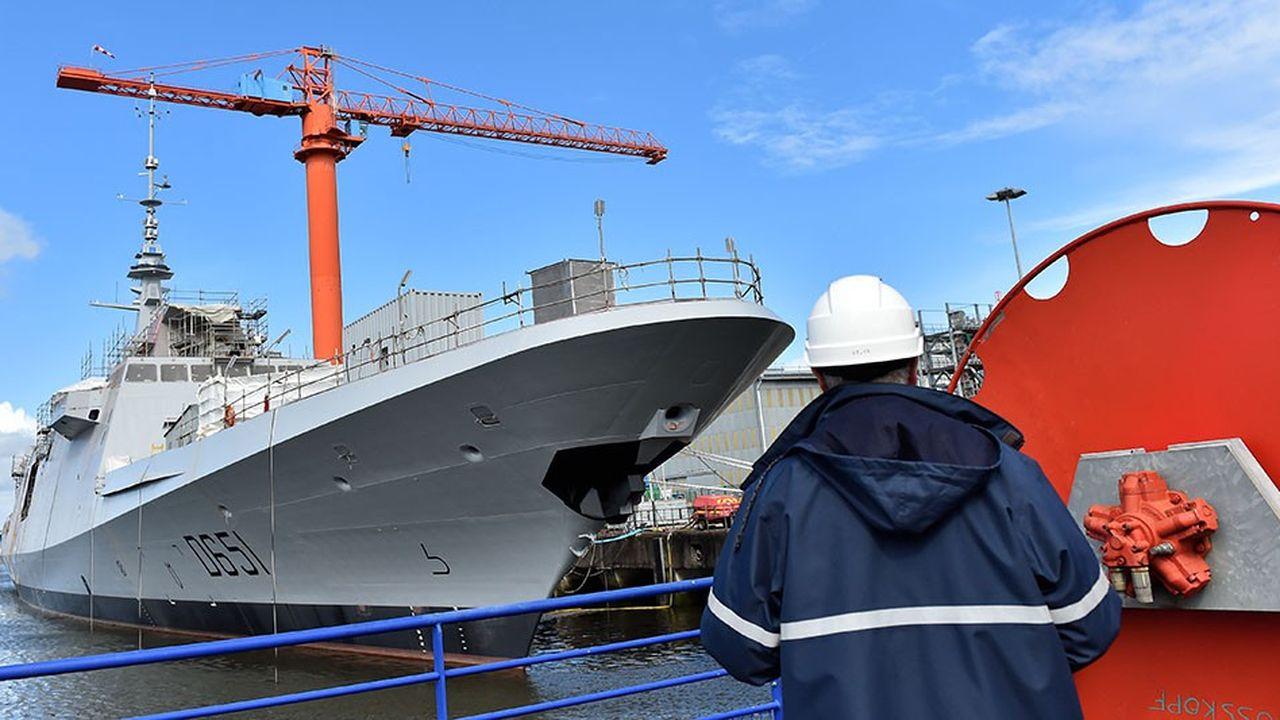 Naval Group et Fincantieri souhaitent se rapprocher mais n'ont pas de programmes communs de frégates, domaine de concurrence frontale.
