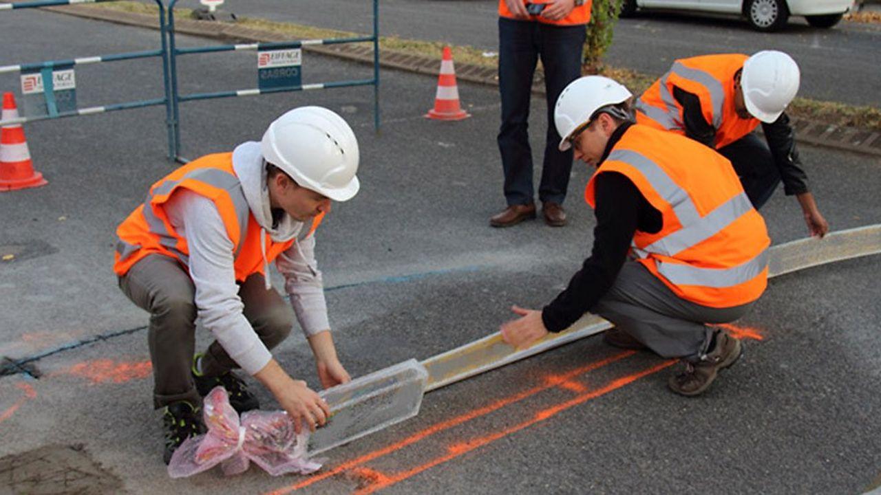 La jeune pousse française AltaRoad va commercialiser des capteurs capables de mesurer le trafic et de détecter dès leur naissance les problèmes de la route, sur la couche de surface ou les couches inférieures.
