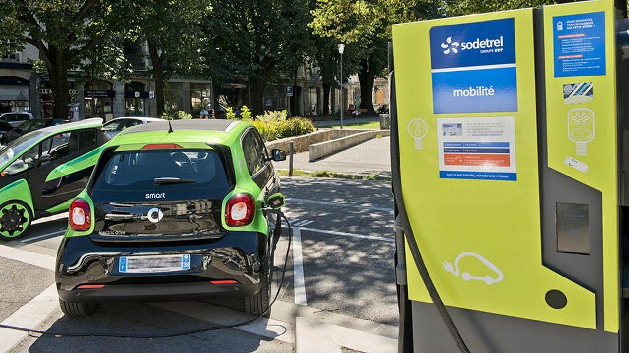 EDF ambitionne de devenir le premier fournisseur en électricité pour véhicules électriques à l'horizon 2022