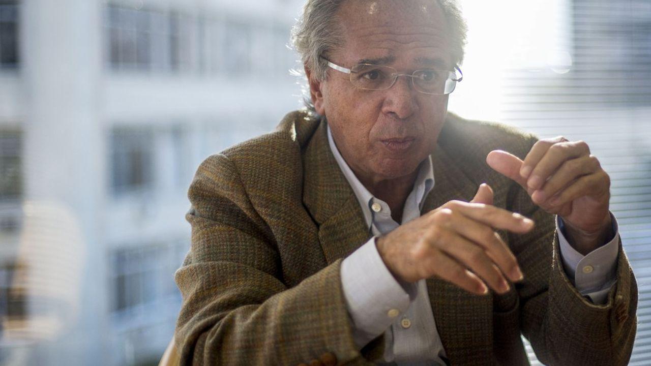 Paulo Guedes est un ultralibéral formé à l'école de Chicago