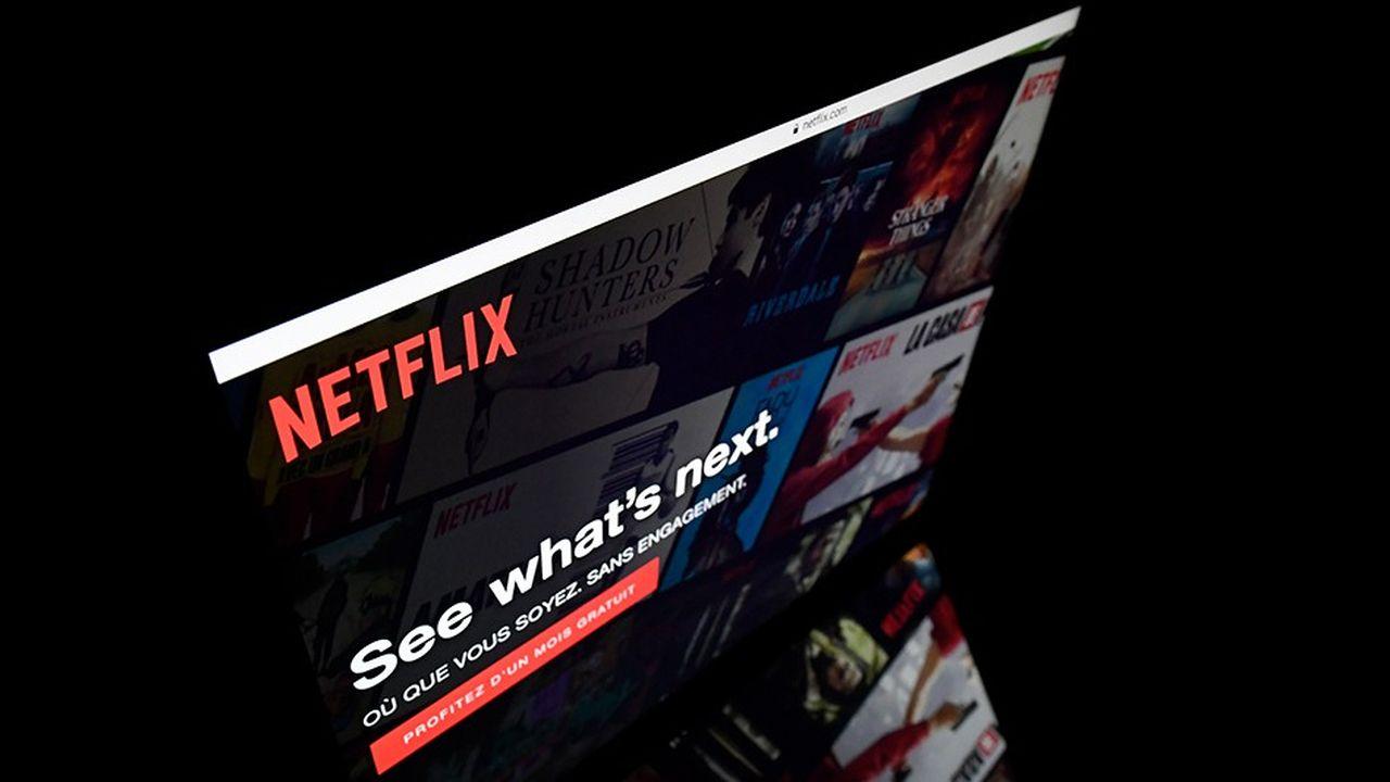 Netflix a perdu plus de 20% depuis le mois de juin. Les valeurs technologiques, chouchous des investisseurs, font l'objet d'importantes prises de bénéfice.