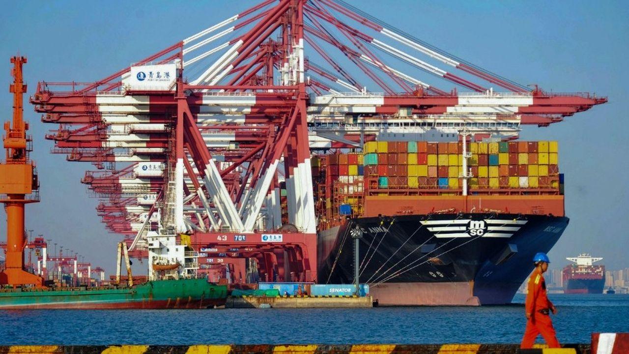 L'excédent commercial mensuel de la Chine avec les Etats-Unis atteint un nouveau record