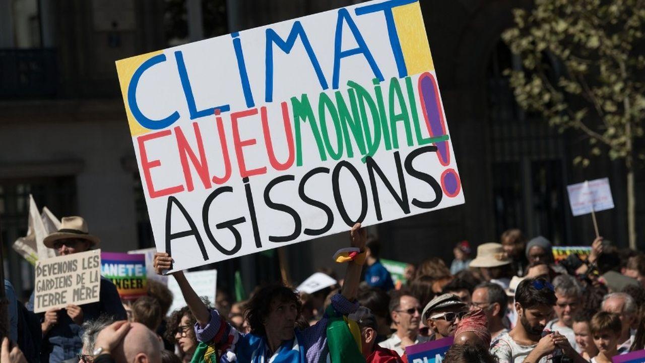 A Paris, la marche pour le climat du mois de septembre avait réuni entre 20.000 et 50.000 participants