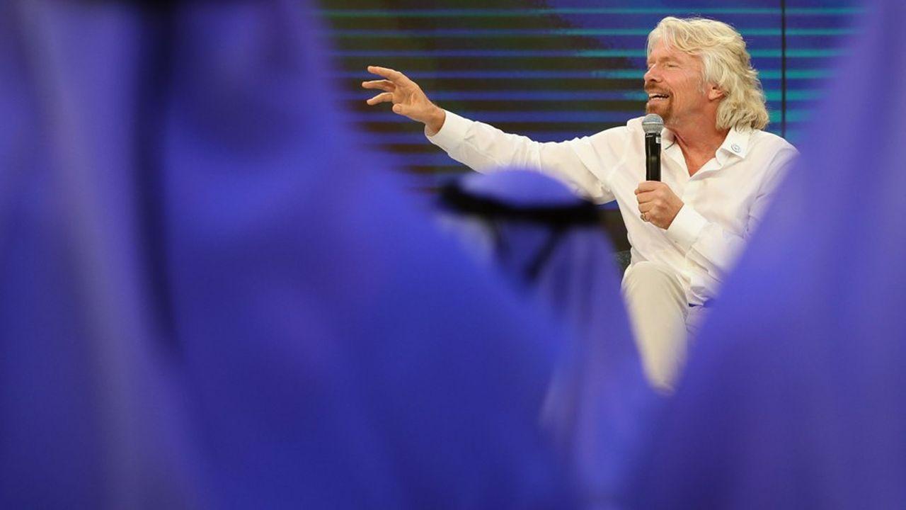 Richard Branson était en discussion avec Ryad pour uninvestissement de 1milliard de dollars du fonds public saoudien