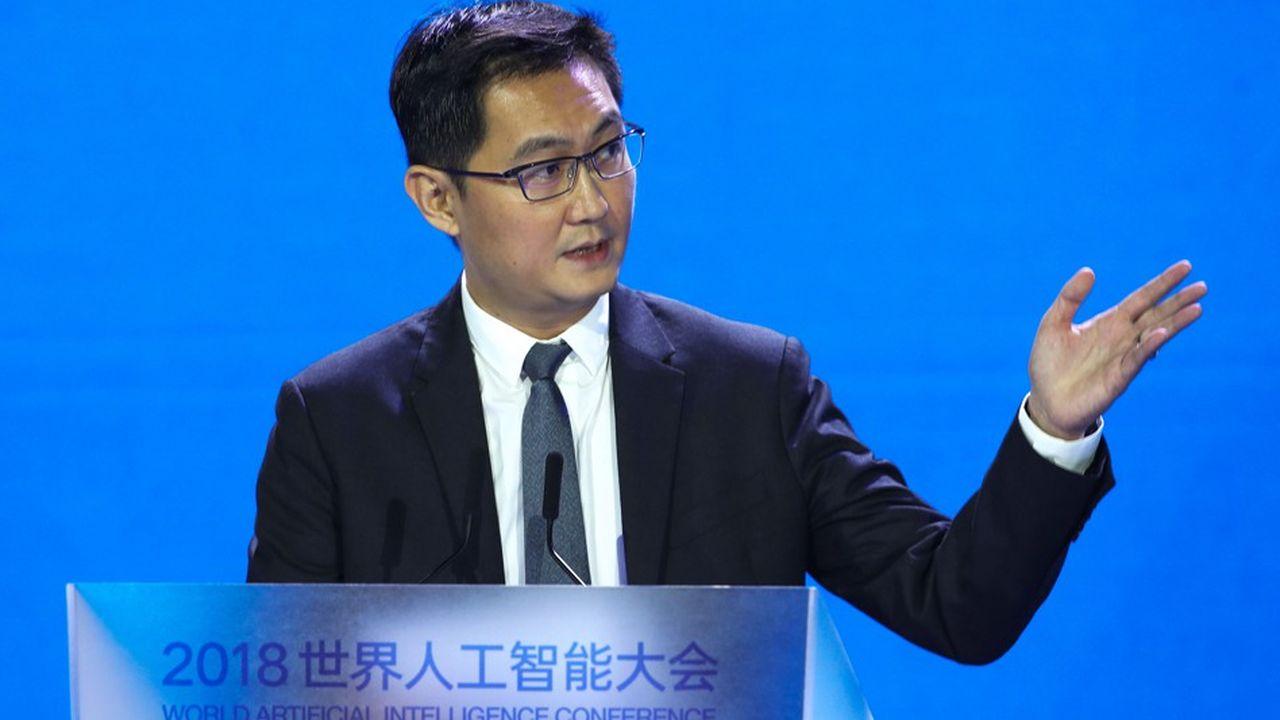 Ma Huateng, le directeur général de Tencent Holdings.