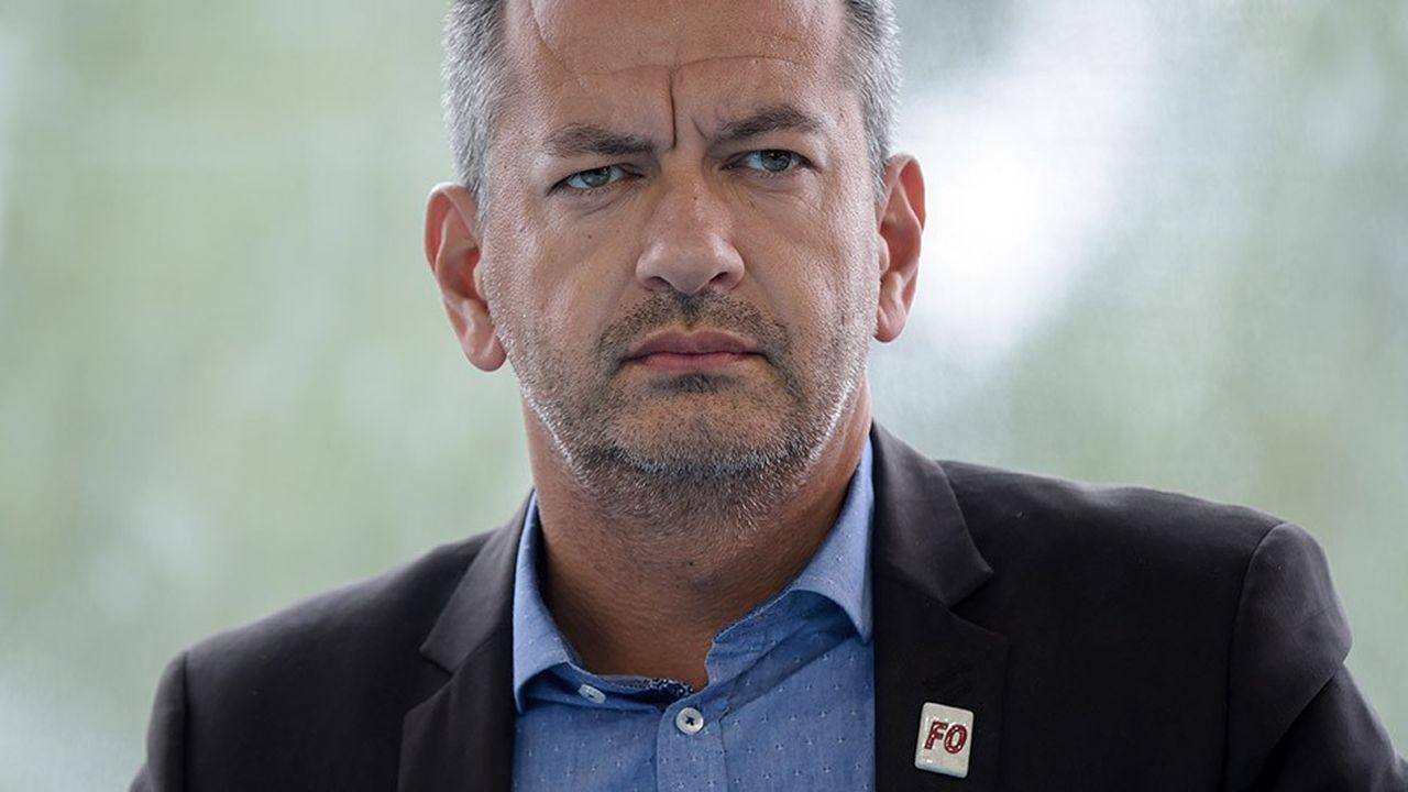 Pascal Pavageau, qui a succédé en mai à Jean-Claude Mailly au secrétariat général de Force ouvrière.