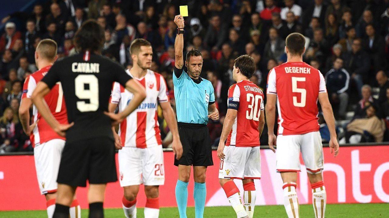 Le PSG s'est imposé sur le score de 6 buts à 1 face à l'Etoile Rouge Belgrade, le 3octobre, à l'occasion d'un match de Ligue des champions.