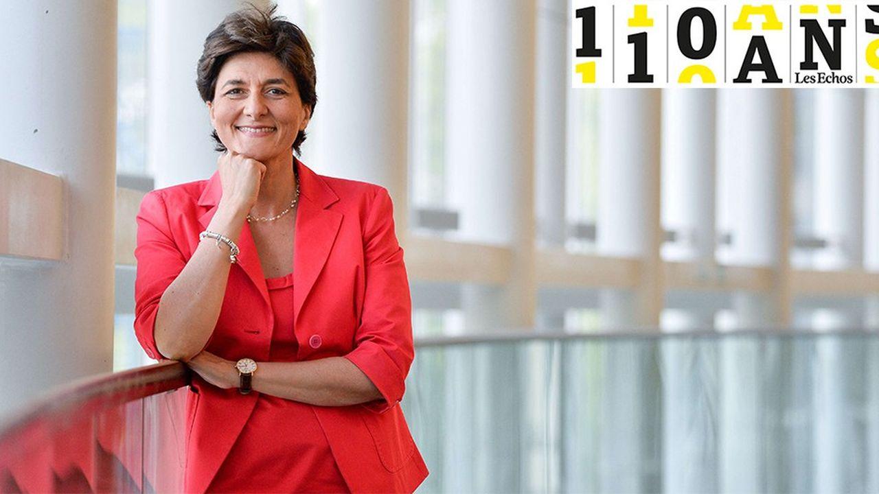 Pour Sylvie Goulard, l'euro représente le plus grand défi car elle est la réalisation la plus concrète de la construction européenne