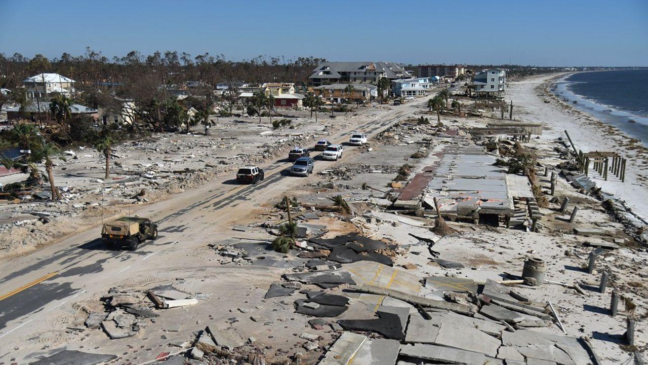 La petite station balnéaire de Mexico Beach est «dévastée», a déclaré à l'AFP le gouverneur de la Floride, Rick Scott.