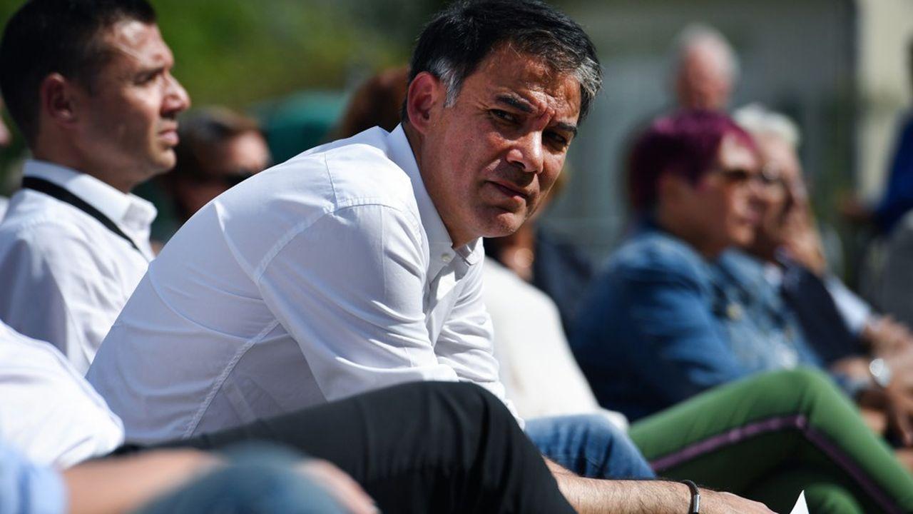 Le député Olivier Faure a repris la tête du PS en avril2018.