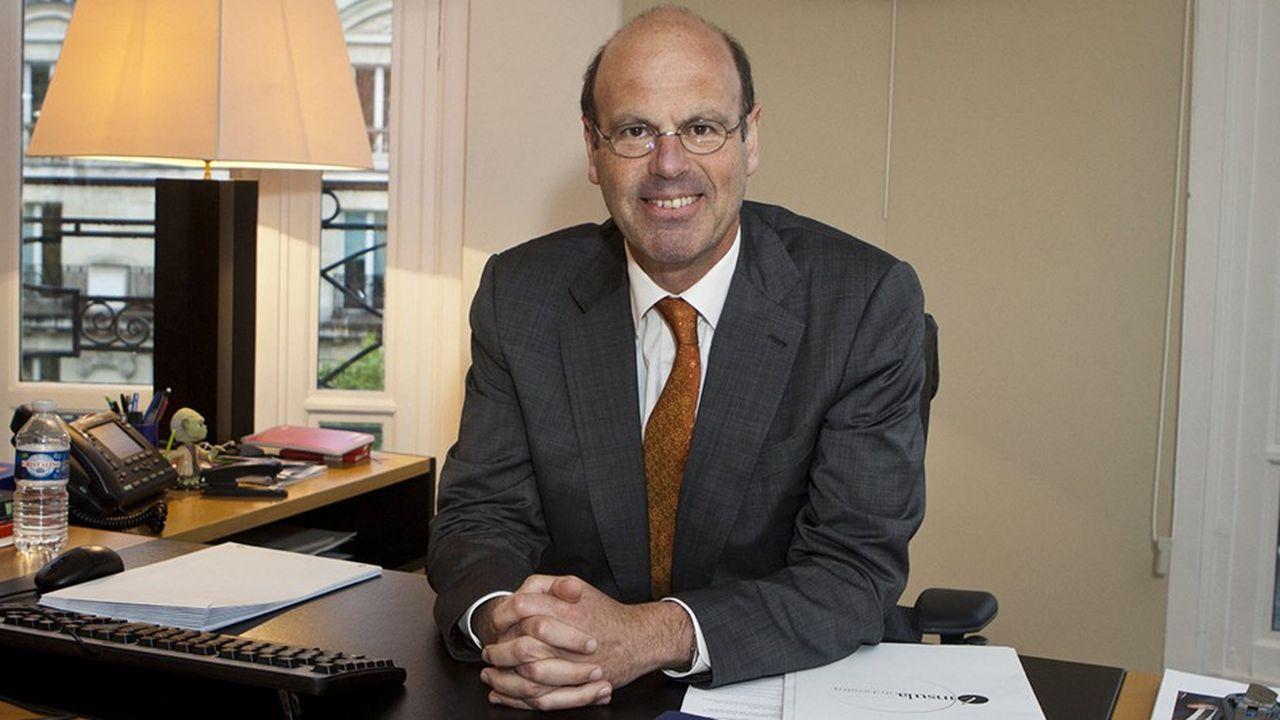 Eric Lombard, le directeur général de la Caisse des Dépôts et Consignations.