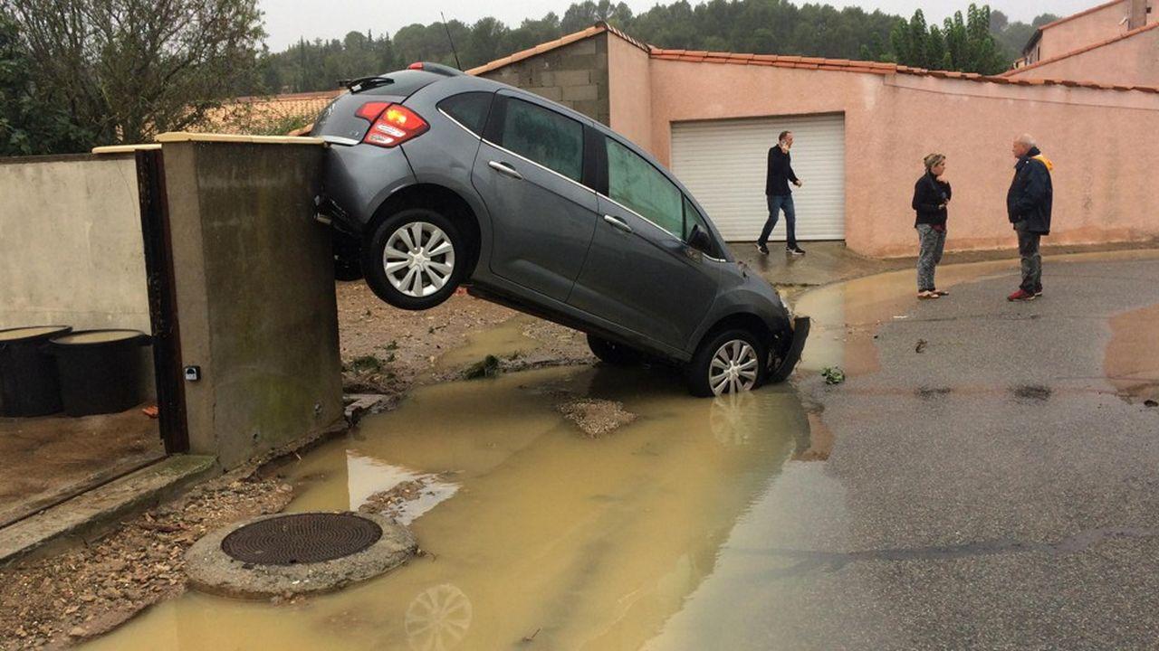 Avec plus de 250 interventions des pompiers dans la nuit, l'Aude a été particulièrement touchée par l'épisode orageux.