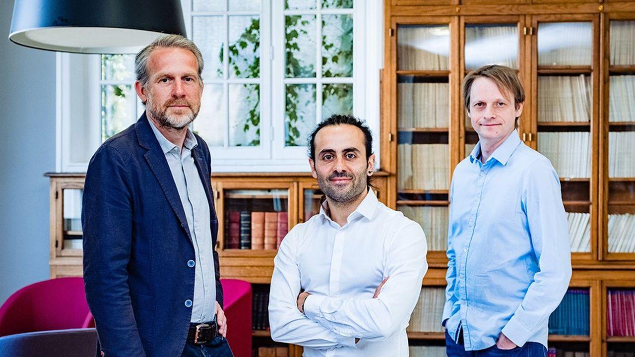 Indexima a été fondé il y a trois ans parEmmanuel Dubois, Florent Voignier et Nicolas Korchia.