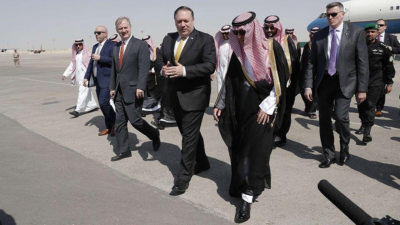 Le secrétaire d'Etat américain Mike Pompeo, arrivé ce 16octobre à Riyad, se rendra ensuite à Ankara.