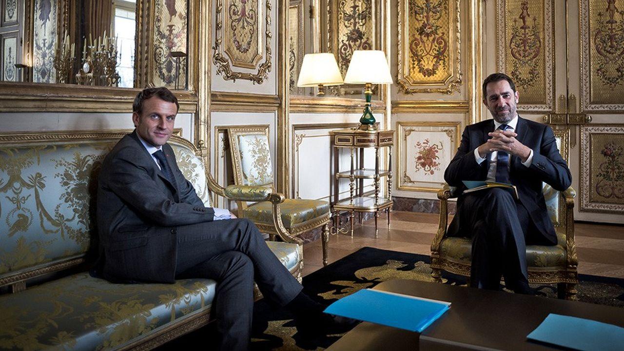 Emmanuel Macron a choisi un fidèle parmi les fidèles, Christophe Castaner, pour le poste de ministre de l'Intérieur.