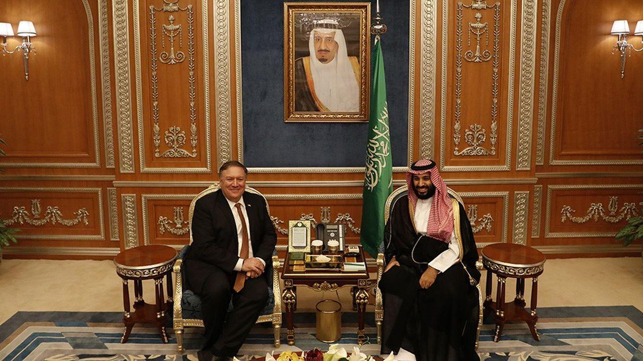 Mike Pompeo a rencontré à Riyad le prince héritier qui a pour l'instant accepté le principe d'une enquête approfondie.