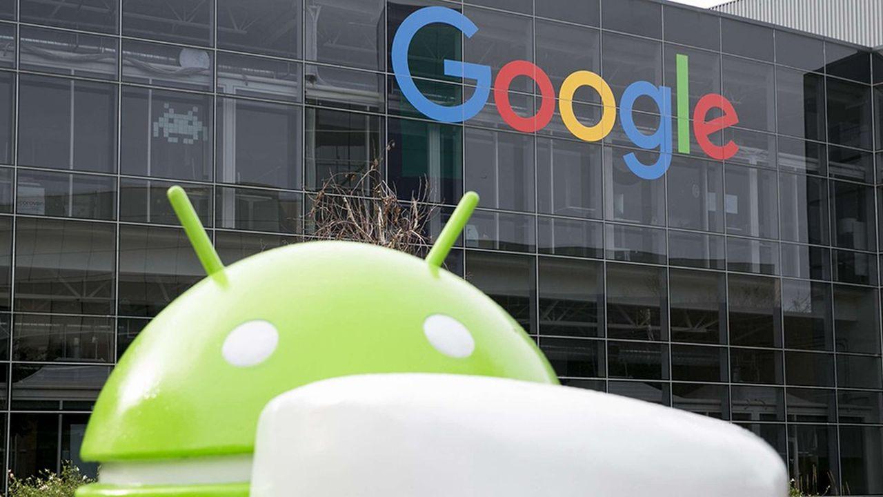 Google avait écopé d'une amende de 4,3milliards d'eurosl'été dernier de la part de l'antitrust européen.