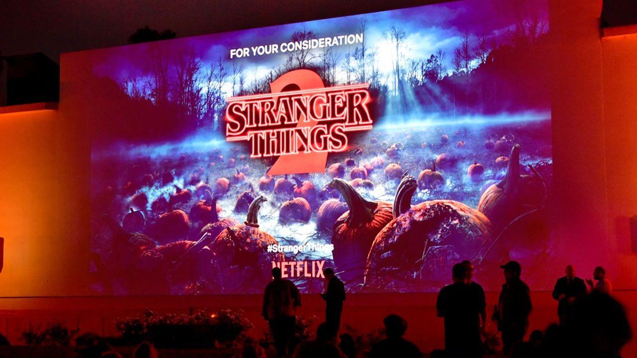 La série «Stranger Things» fait partie des gros succès de la plate-forme de streaming vidéos.