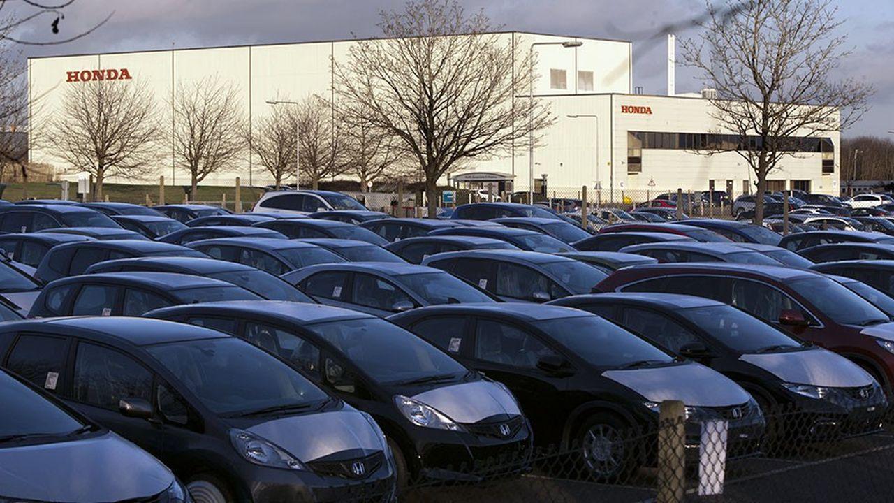 Le rétablissement des droits de douane sur le marché européen augmentera le prix des véhicules fabriqués au Royaume-Uni. Ici, l'usine Honda de Swindon, dans le Wiltshire