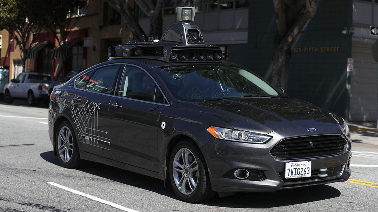 Uber développe en interne un programme de voitures autonomes avec des Ford