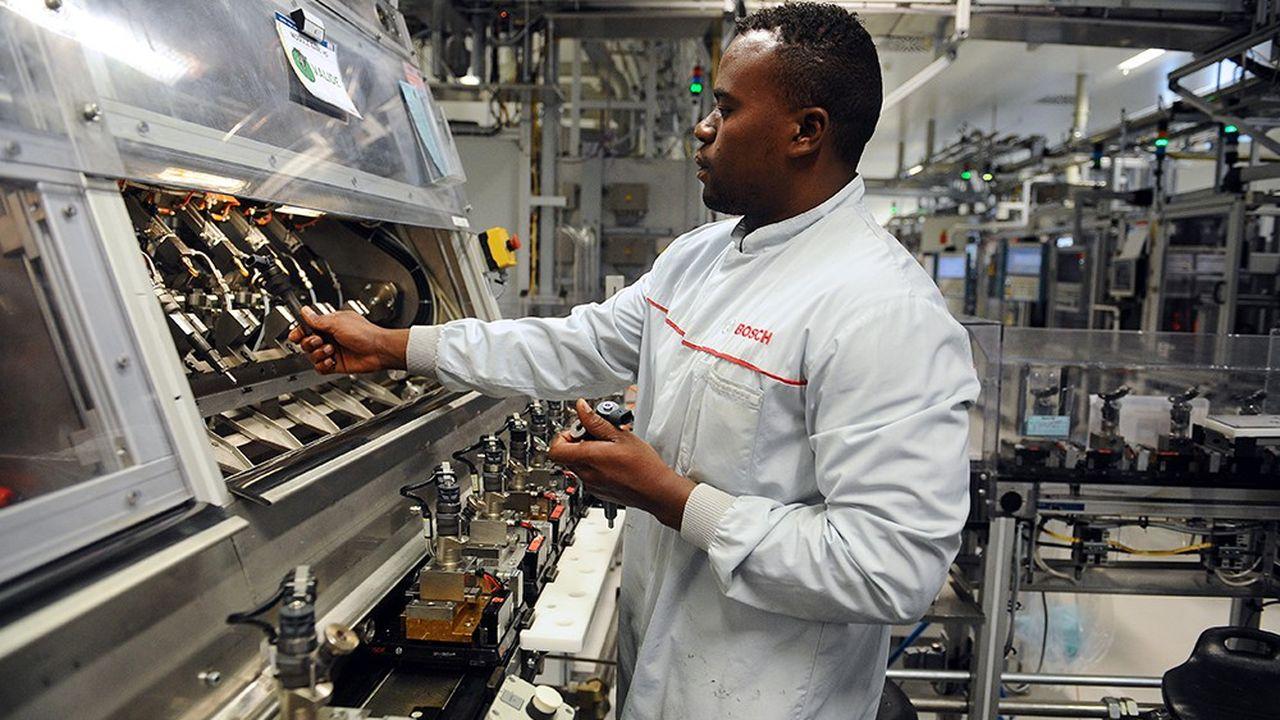 L'usine de l'équipementier automobile allemand Bosch à Rodez, emploie 1.600 salariés.