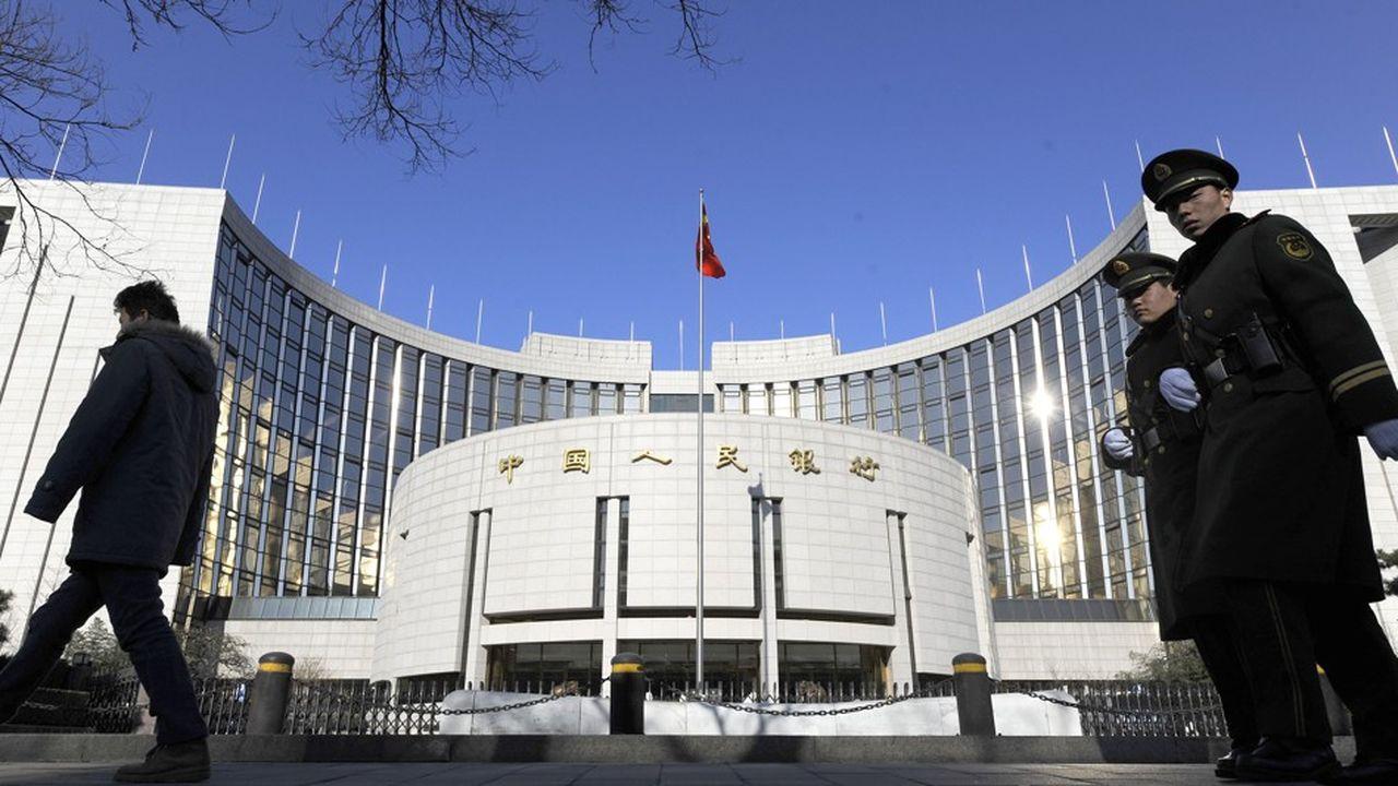 Pour la Banque centrale chinoise, les valorisations actuelles du marché boursier contrastent avec l'amélioration des fondamentaux économiques