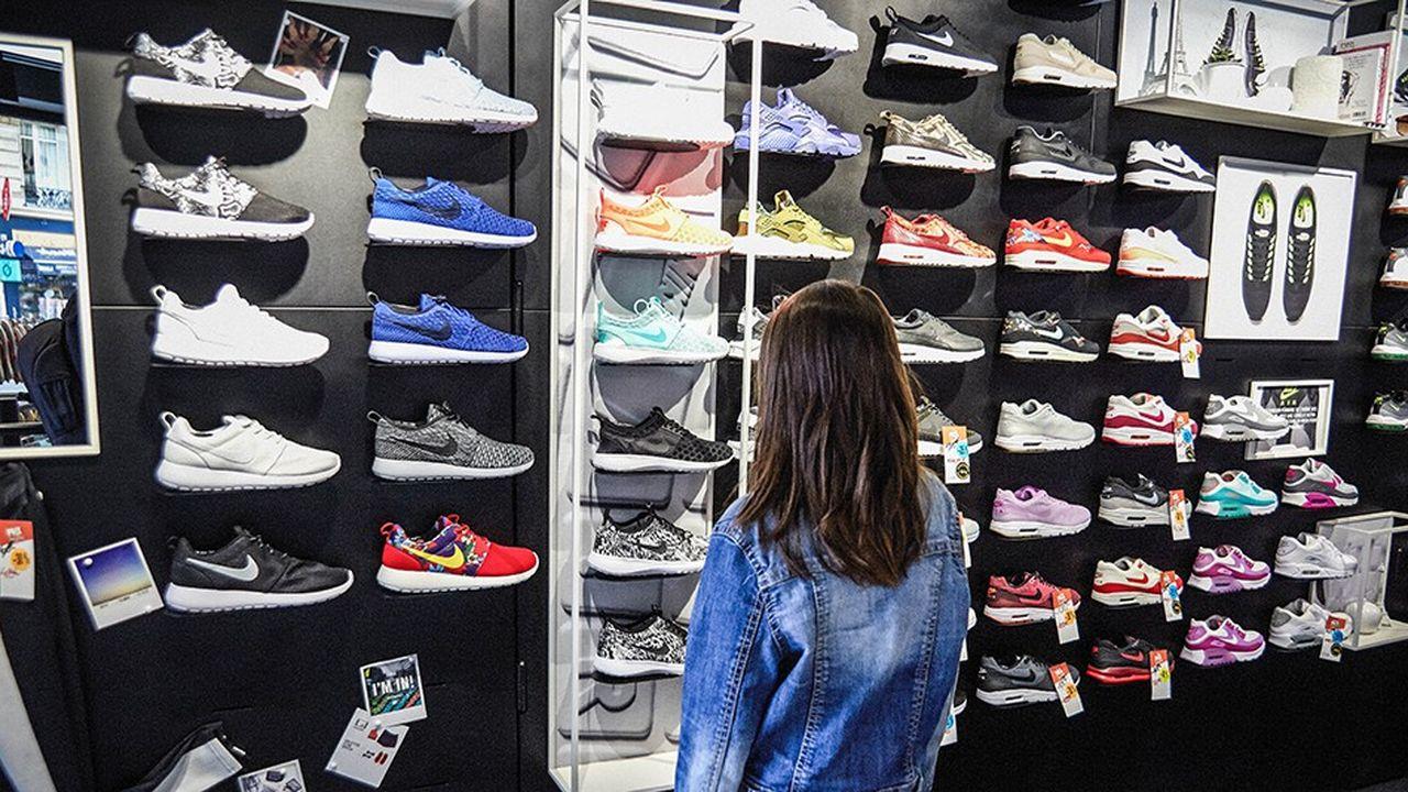 Les sneakers prennent le pouvoir sur le marché de la
