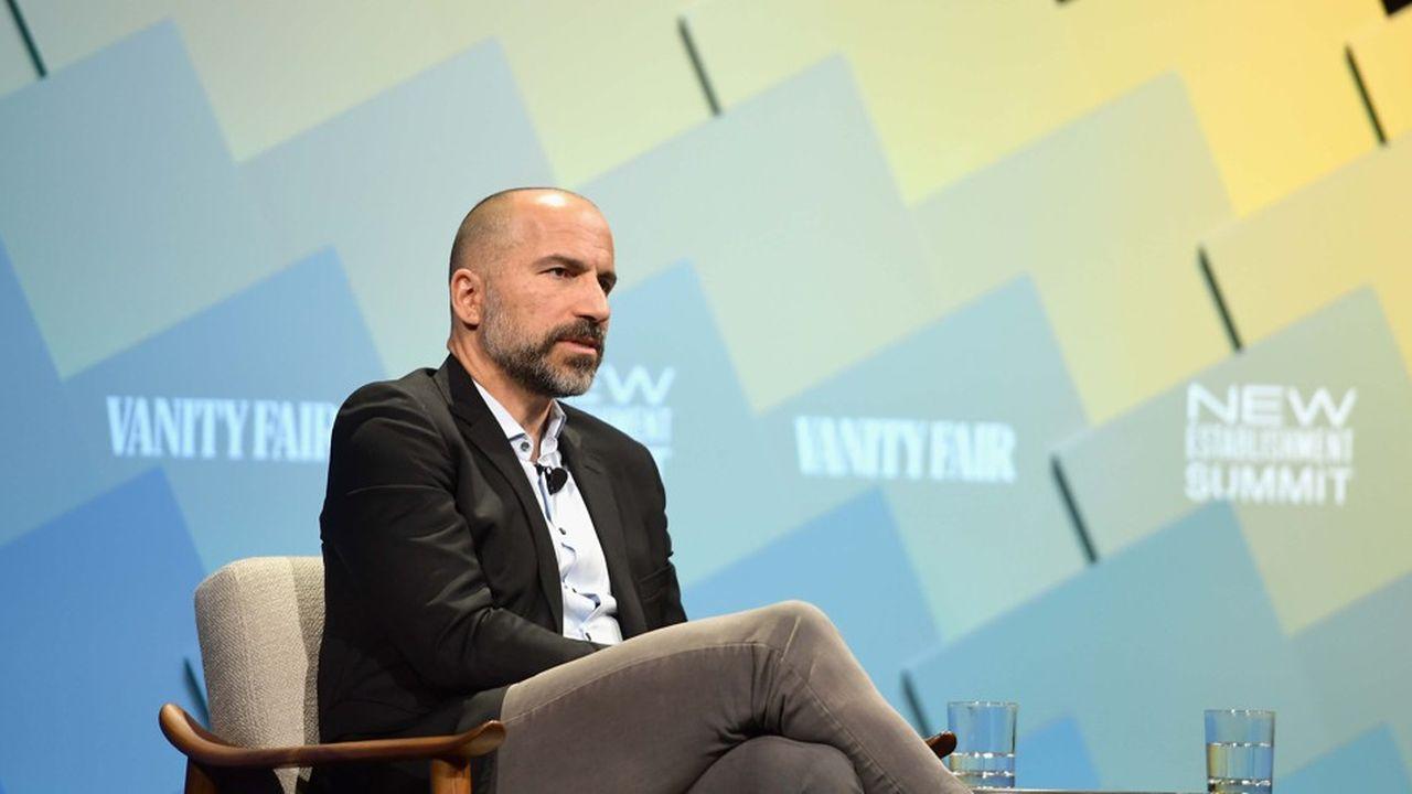 Secouée ces derniers mois par de nombreux scandales sexuels, Uber est désormais sur la voie du redressement, assure son patron Dara Khosrowshahi (photo)