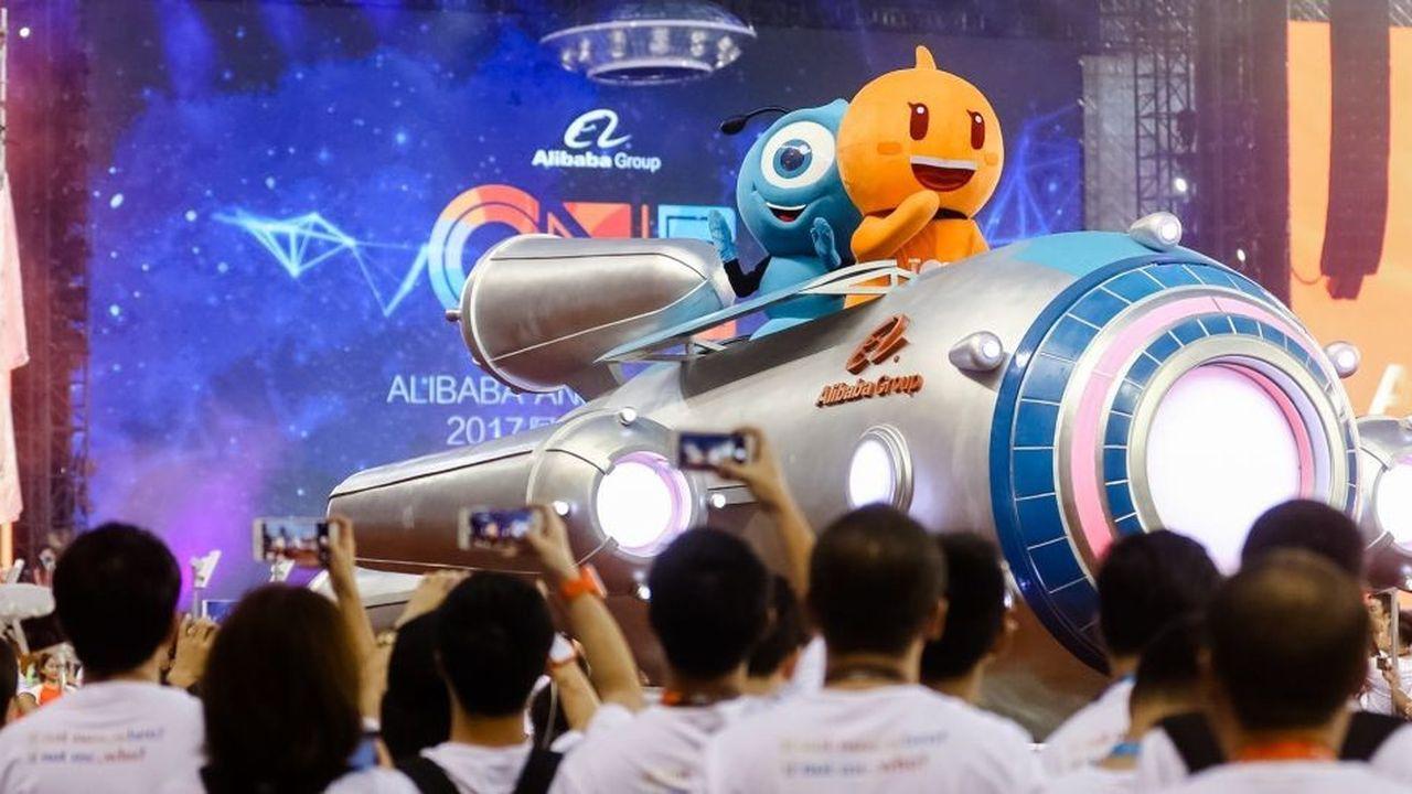 La mini-station spatiale «Candy Tin» et lesatellite, «Tmall International» sont principalement destinés à faciliter les achats des clients qui ne sont pas en Chine