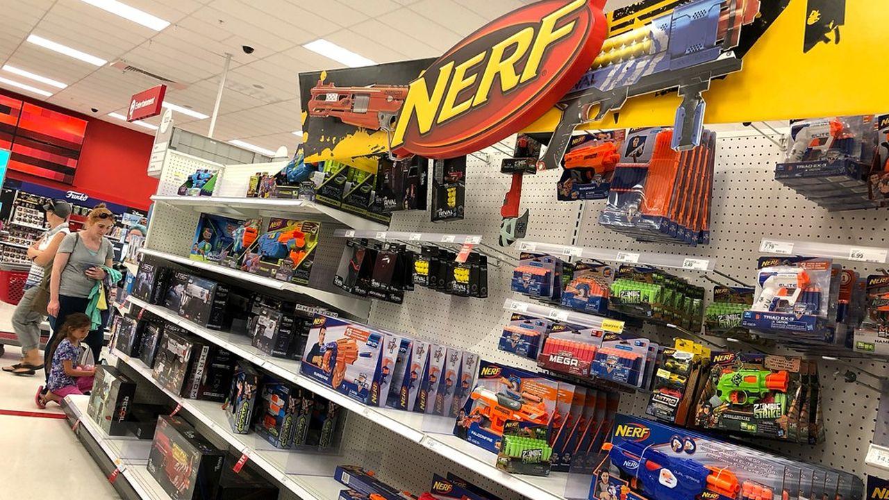 A l'international les ventes d'Hasbro se sont effondrées de 24%