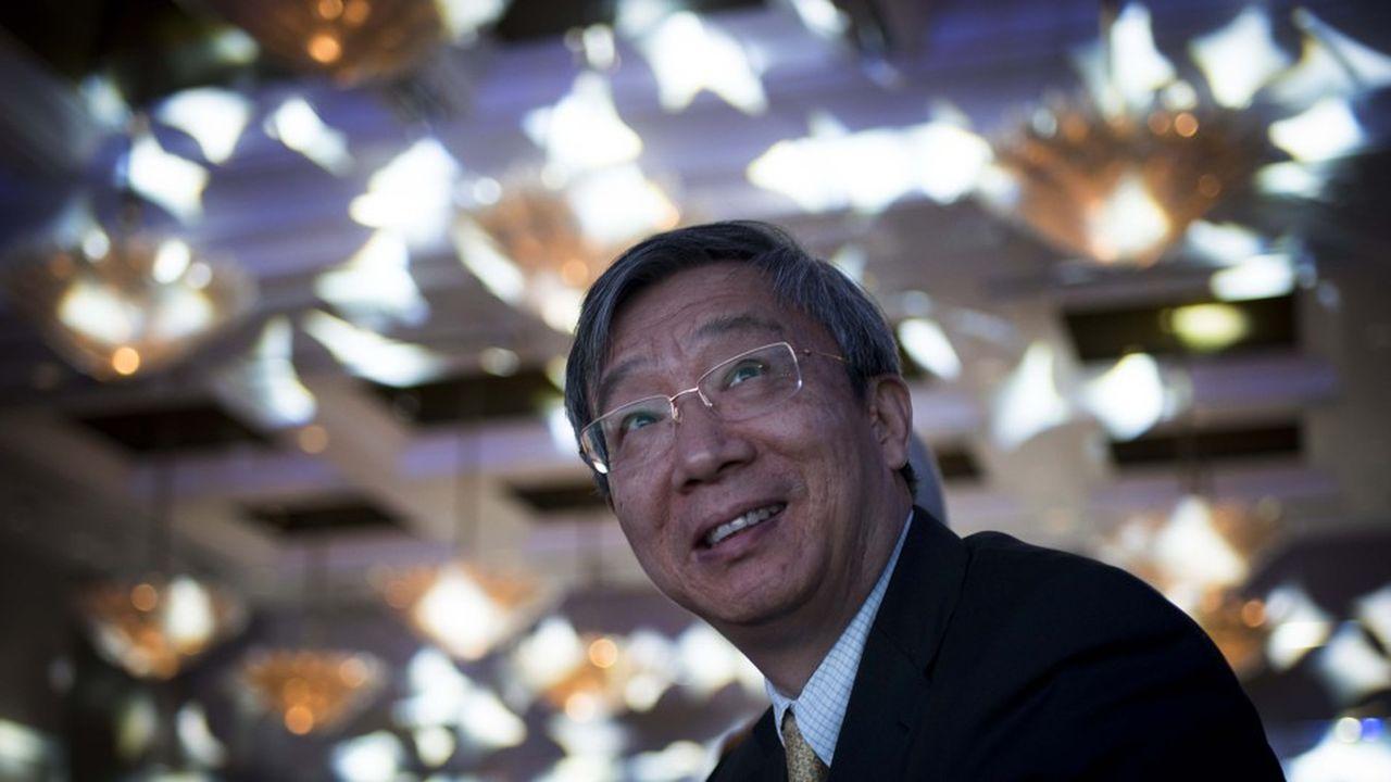 Yi Gang, le gouverneur de la Banque centrale chinoise, doit gérer le ralentissement de l'activité et la baisse du renminbi.