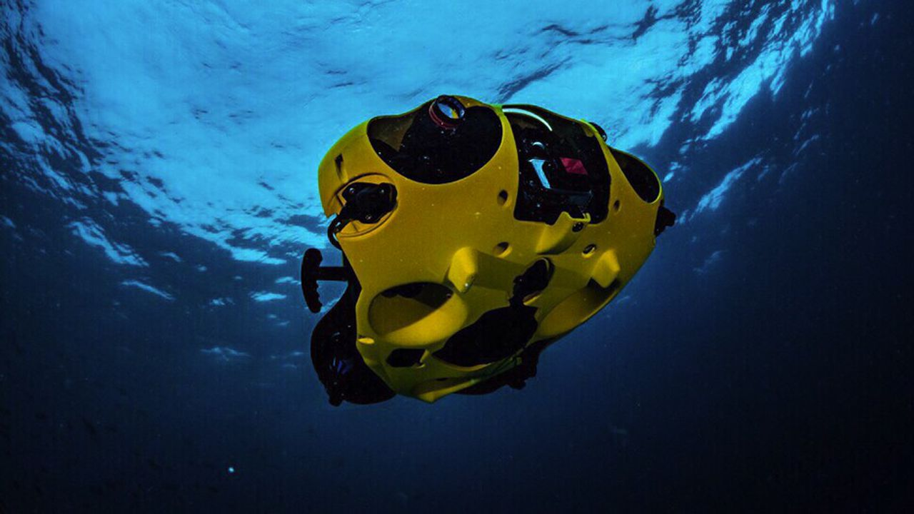 Le drone sous-marin iBubble de Notilo Plus embarque une électronique complexe et de l'intelligence artificielle.