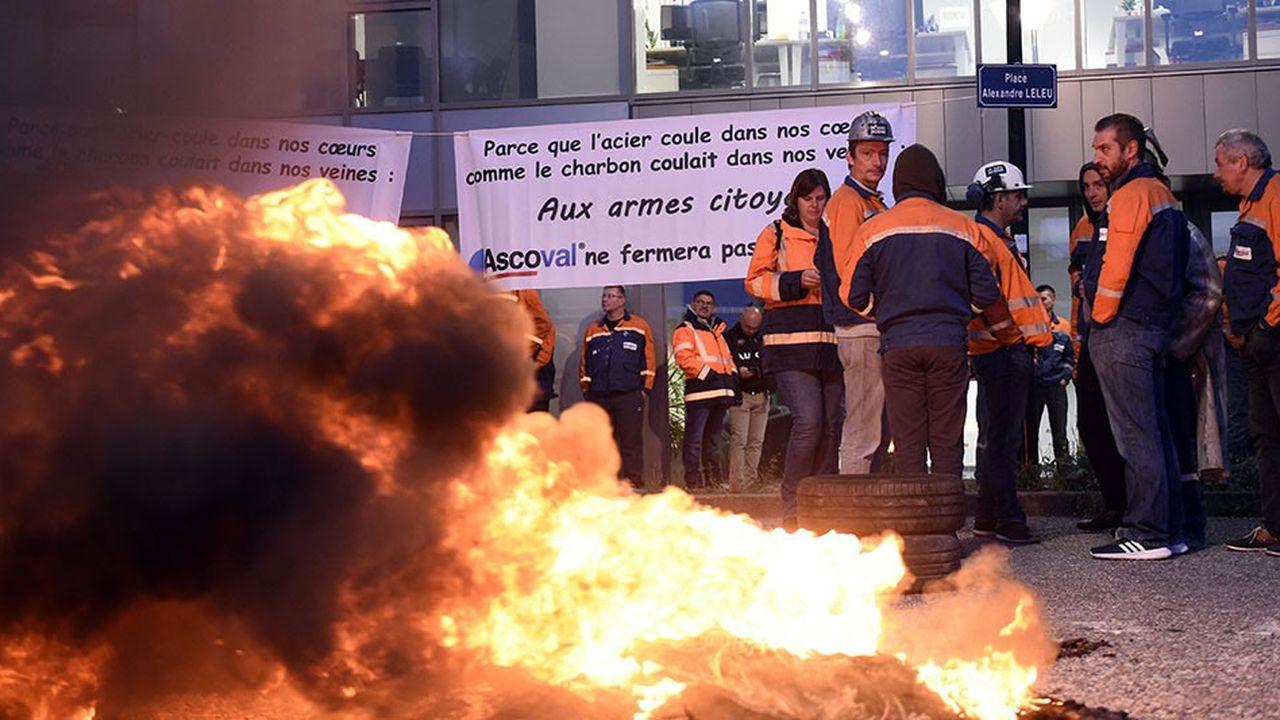 Les 281 salariés d'Ascoval sont ballotés de promesses en faux espoirs depuis 2014.
