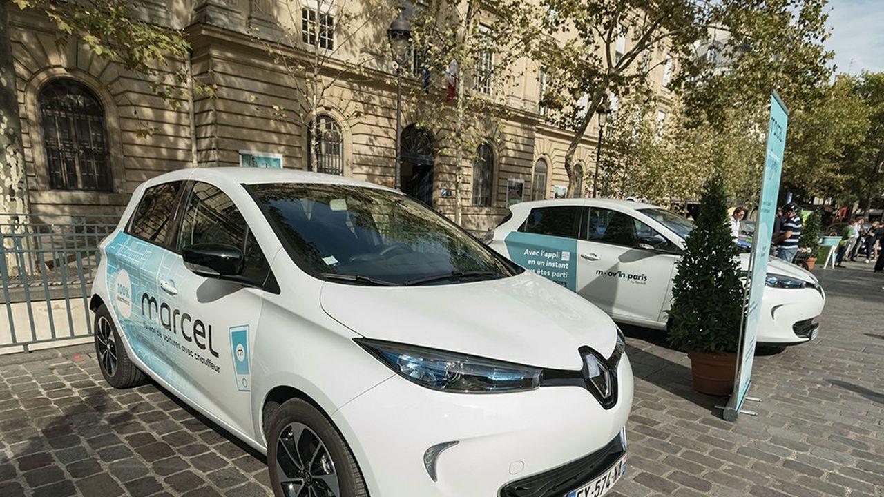 Les services numériques d'autopartage et de réservation de véhicules avec chauffeur vont devenir un vecteur de croissance et de rentabilité.