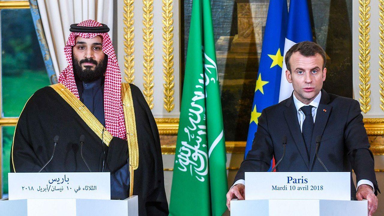 Emmanuel Macron avait reçu MBS, l'homme fort de l'Arabie saoudite, le 10 avril dernier à l'Elysée.