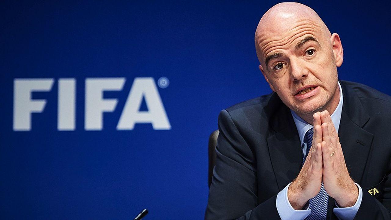 Gianni Infantino brigue un second mandat à la tête de la Fifa.