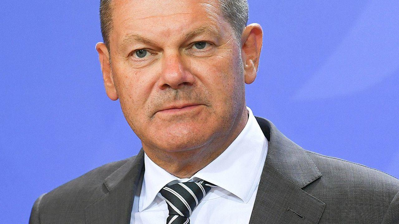 Olaf Scholzle ministresocial-démocrate des Finances défend la création d'un fonds de réassurance chômage européen que les états devraient approvisionner.