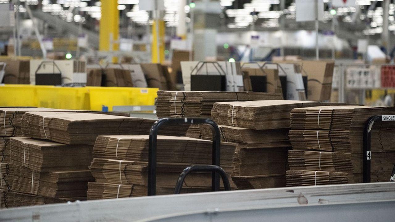 Les ventes d'Amazon, qui ont crû moins rapidement que prévu, ont déçu, à 56,5milliards de dollars