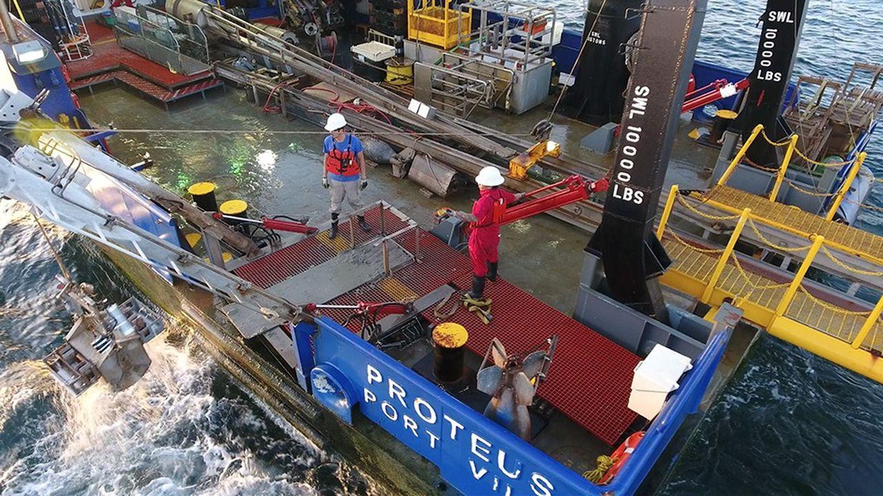 Le forage du puits d'exploration, effectué depuis un navire par 2.000 mètres de profondeur d'eau, doit démarrer début 2019 pour une période de quatre mois.