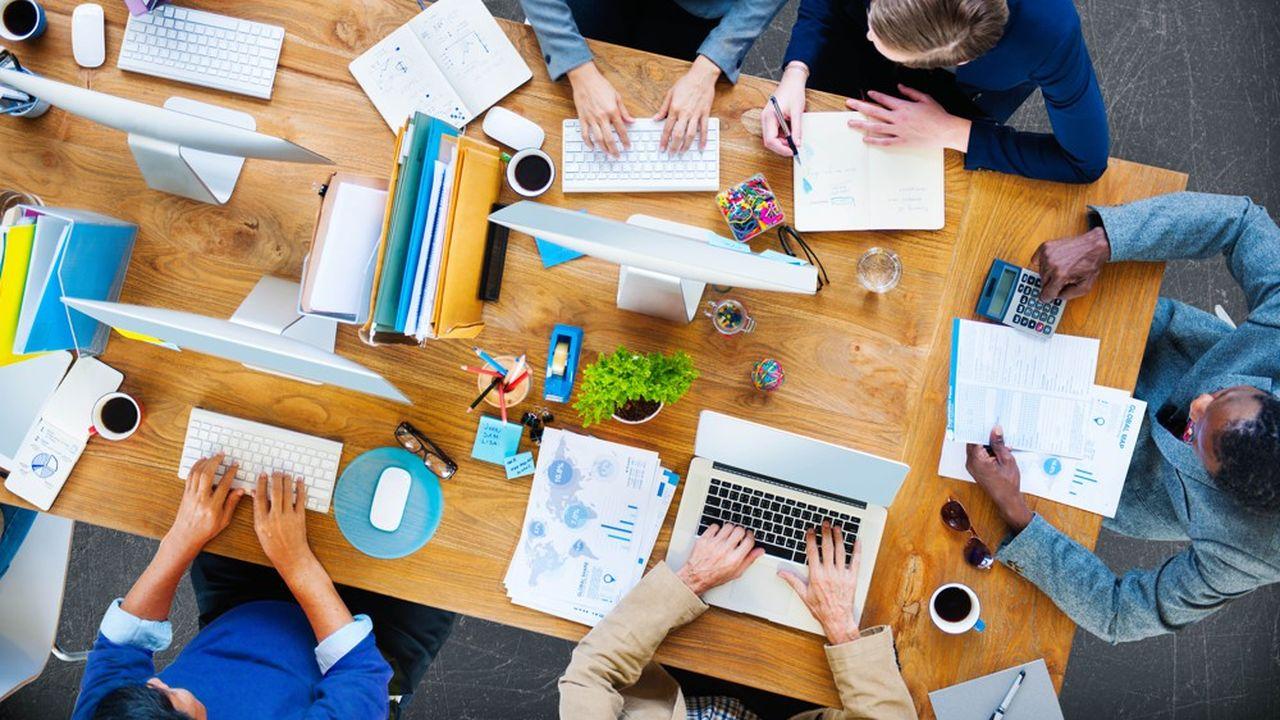 D'une manière générale, le travail en coworking devrait concerner entre 8 et 13% des travailleurs dans les économies développées